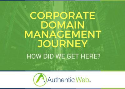 Corporate Domain Journey