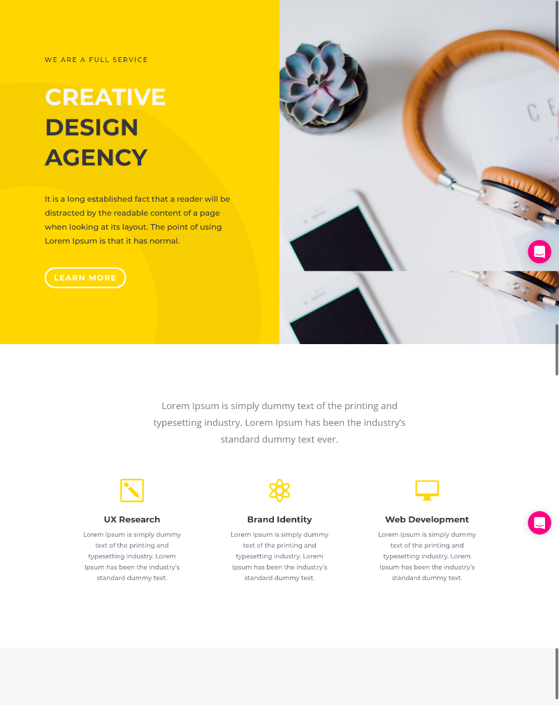 Home hitouch web for Household design agency