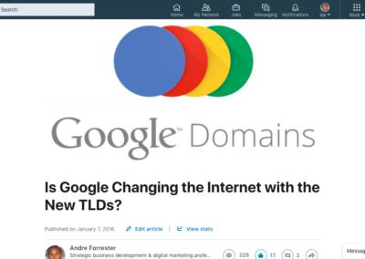 Epic Dot Google Blog